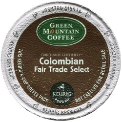 Green Mountain Colombian Fair Trade Select (96 cups)