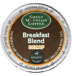 Green Mountain Breakfast Blend Decaf (96 cups)