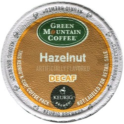 Green Mountain Hazelnut Decaf (96 cups)