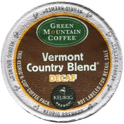 Green Mountain Vermont Country Blend Decaf