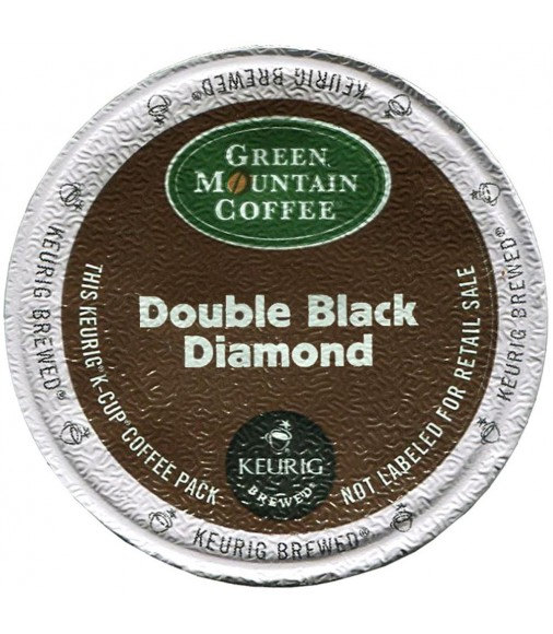 Green Mountain Double Black Diamond Extra Bold (96 cups)