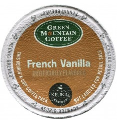 Green Mountain French Vanilla Coffee (96 cups)