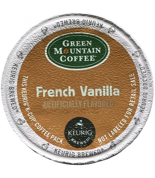 Green Mountain French Vanilla Coffee (96 cups)