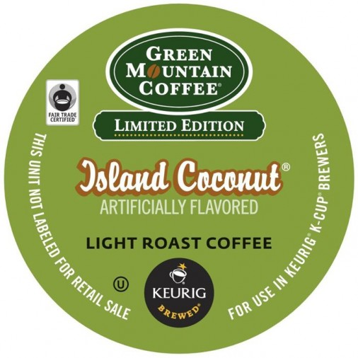 Green Mountain Island Coconut Coffee