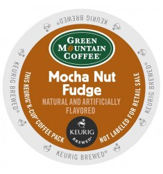 Green Mountain Mocha Nut Fudge Coffee (96 cups)