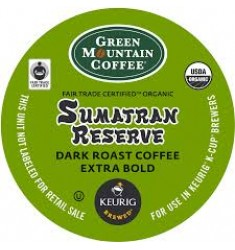 Green Mountain Sumatra Reserve Extra Bold (96 cups)