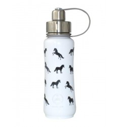 Green's Your Colour, Triple Insulated Bottle, Ultimate Horsey, White -500ml