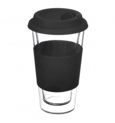 Grosche Glassen Double-walled Mug (Black)