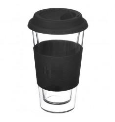 Grosche Glassen Double-walled Mug (Black)