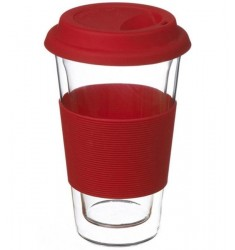 Grosche Glassen Double-walled Mug (Red)