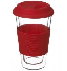 Grosche Glassen Double-walled Mug (Red)