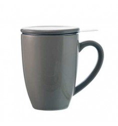 Grosche Kassel Tea Infuser Mug (Grey)