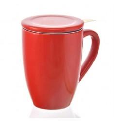 Grosche Kassel Tea Infuser Mug (Red)