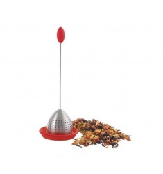 Grosche Tulip Loose Leaf Tea Infuser (Red)
