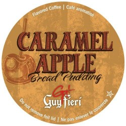 Guy Fieri Caramel Apple Bread Pudding Coffee