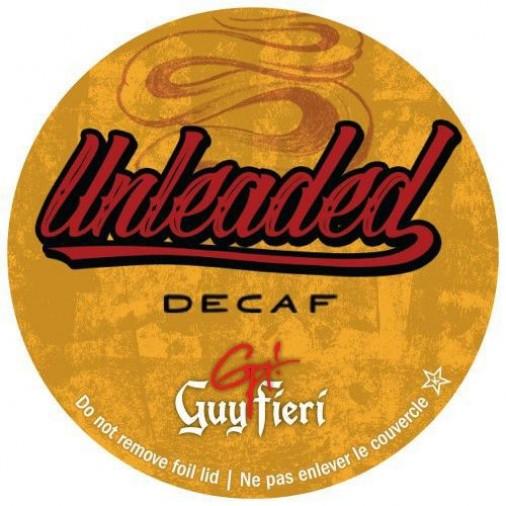 Guy Fieri Unleaded Decaf Coffee