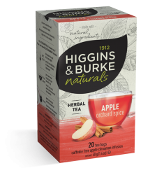 Higgins & Burke Apple Orchard Spice Traditional Tea Bags