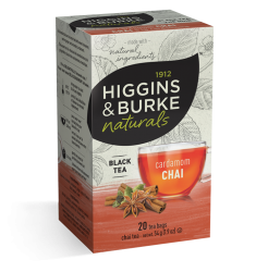 Higgins & Burke Cardamom Chai Tea Bags