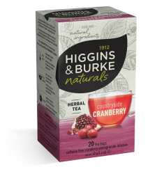 Higgins & Burke Countryside Cranberry Traditional Tea Bag