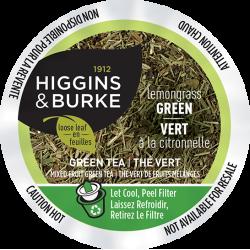 Higgins & Burke Lemongrass Green