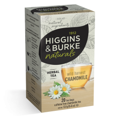 Higgins & Burke Wild Harvest Chamomile Herbal Tea Bags