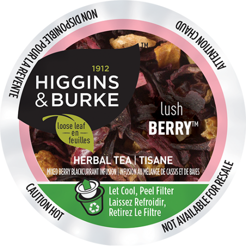 Higgins & Burke Lush Berry Herbal Loose Leaf Tea