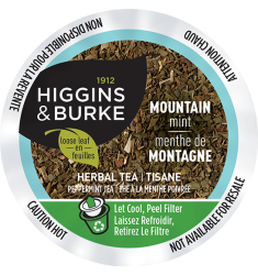 Higgins & Burke Mountain Mist Peppermint Tea