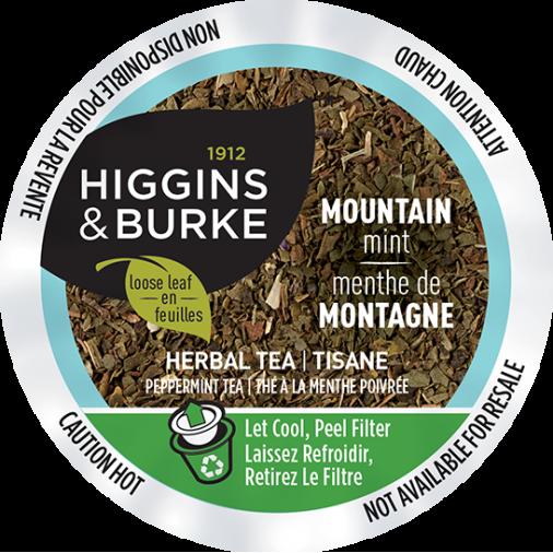 Higgins & Burke Mountain Mist Peppermint Tea