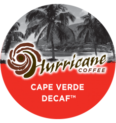 Hurricane Coffee Cape Verde Decaf