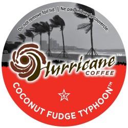 Hurricane Coffee Coconut Fudge Typhoon