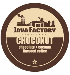 Java Factory Roasters Coconut Coffee