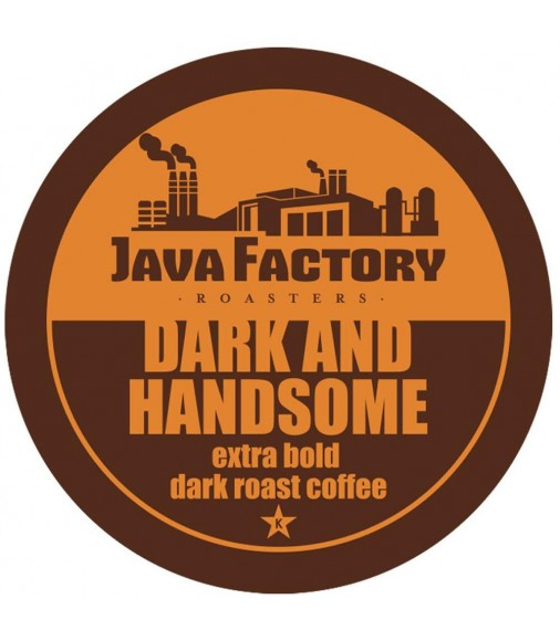 Java Factory Roasters Dark and Handsome Coffee