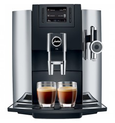 Jura E8 Espresso Machine (Chrome)