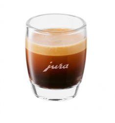 Jura Espresso Glass Cup with Jura Logo (Set of 2)