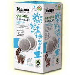 Kienna Pods, Fair Trade Organic, Gautemala Coffee