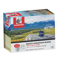 Landmark Coffee Rocky Mountain Blend