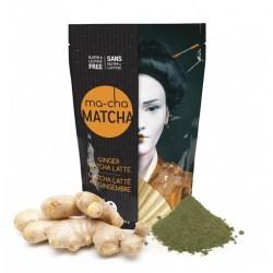 Ma-Cha Ginger Matcha Latte (225g)