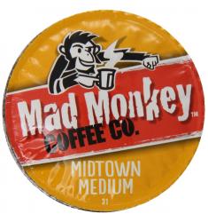 Mad Monkey Midtown Medium Coffee - 48 c