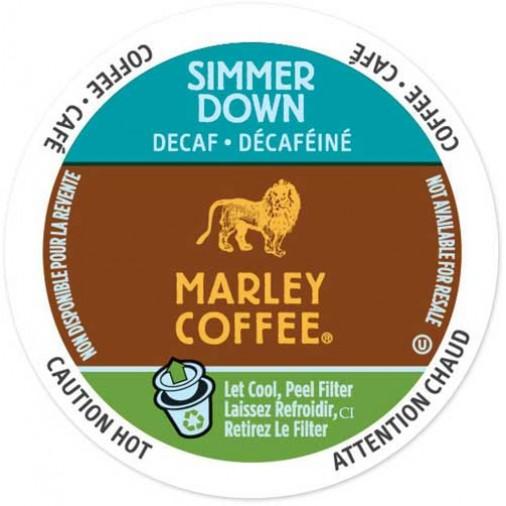 Marley Simmer Down Decaf