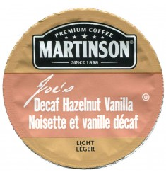 Martinson Joe's Hazelnut Vanilla Decaf Coffee