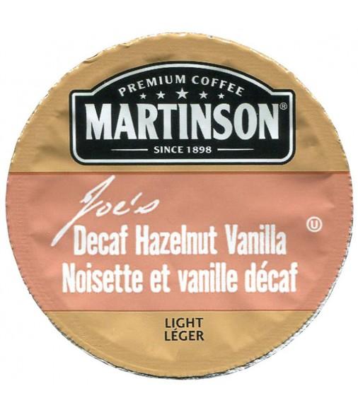 Martinson Joe's Hazelnut Vanilla Decaf Coffee