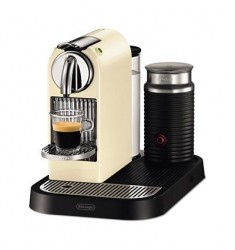 Nespresso Citiz With Milk Frother (White)