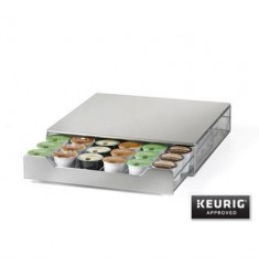 Nifty Stainless Steel K-cup Rolling Drawer