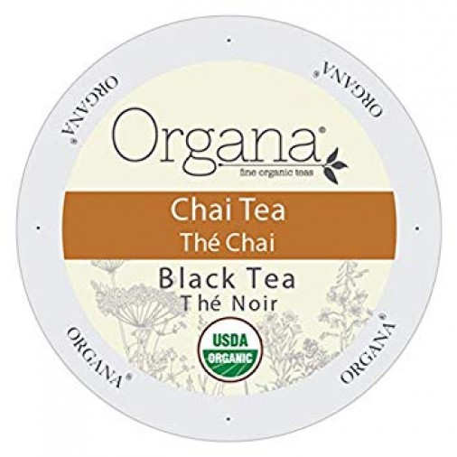 Organa Chai Tea, Single Serve Tea