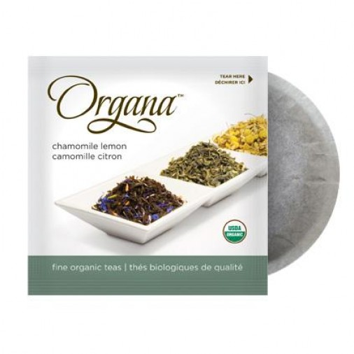 Organa Chamomile Lemon Caffeine-free Tea Pods