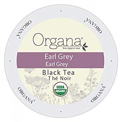 Organa Earl Grey Tea, Single Serve Tea