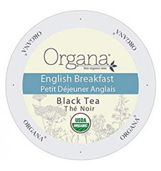 Organa English Breakfast Tea, Single Serve Tea