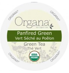 Organa Panfired Green Tea,  Single Serve Tea
