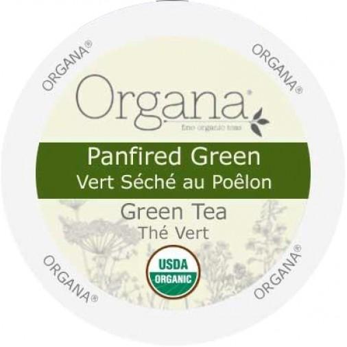 Organa Panfired Green Tea,  Single Serve Tea
