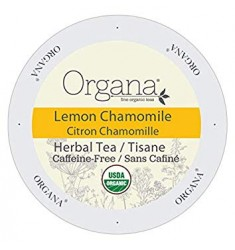 Organa Lemon Chamomile Tea,  Single Serve Tea